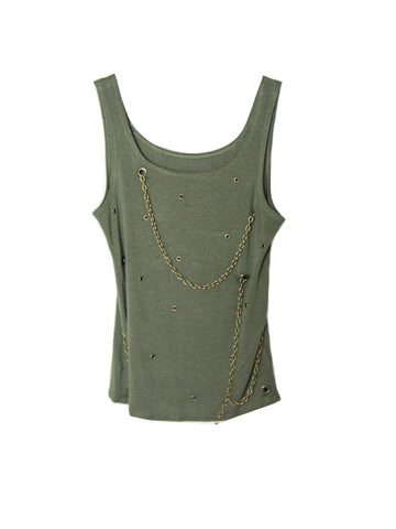 T038 90s METAL CHAINS TANK