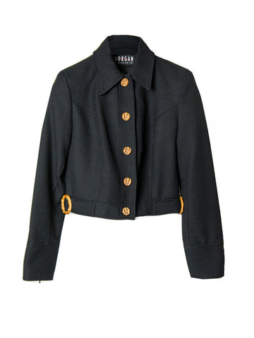 J047 90s MORGAN DE TOI SHORT BLAZER JACKET