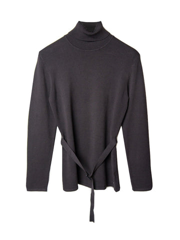 SC023 Jones New York Cotton Turtleneck