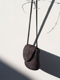 A012 Vintage Woven Cross-Body Bag