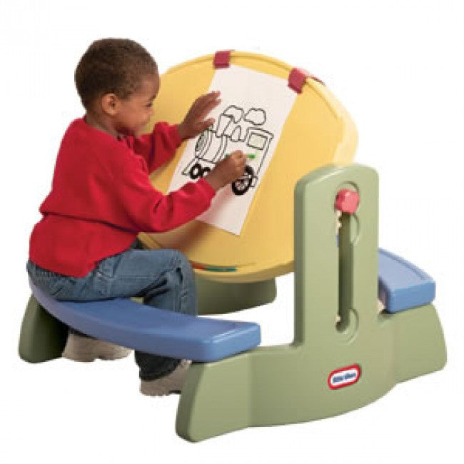 Little Tikes Adjust n' Draw Table - Mesa de Posiciones