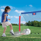 Kickback Soccer Goal & Pitch Back™ - Portería Soccer/Hockey/Baseball
