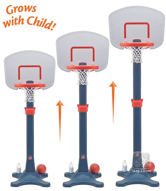 Set Canasta de Basketball Junior Shootin Hoops Ajustable