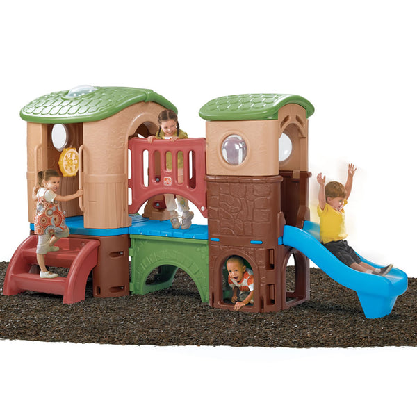 Clubhouse Climber™ - Escalador Casa Club Colores Tierra
