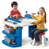 Build and Store Block & Activity Table - Mesa Construcción Bloques Lego® y MEGA Blocks®!