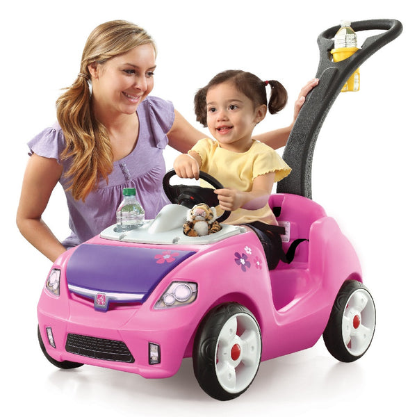 Whisper Ride II - Carrito Montable Rosa