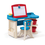 Studio Art Desk™ - Escritorio & Caballete 2-en-1