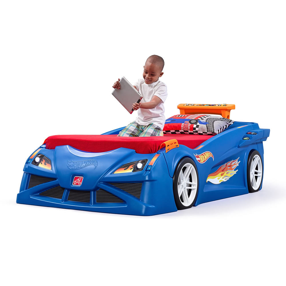 Hot Wheels™ Bed - Cama de Auto de Carreras