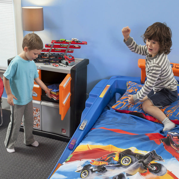 Hot Wheels Race Car Dresser - Cómoda Hot Wheels