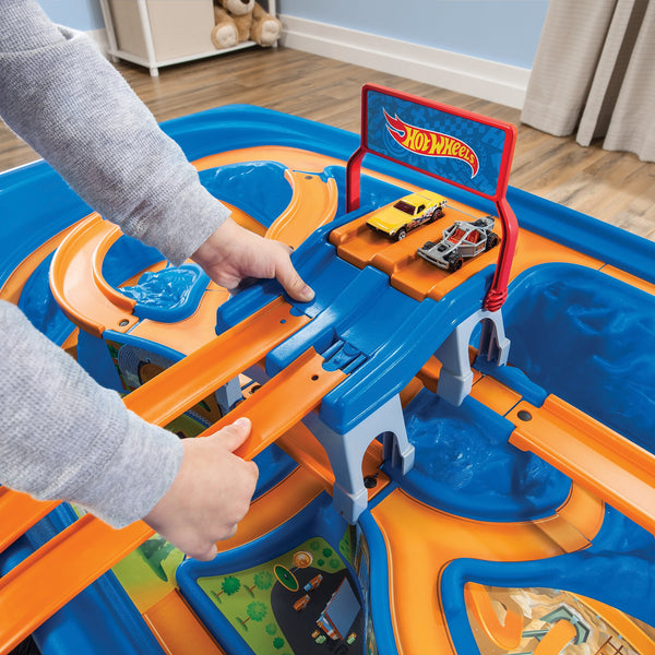 Hot Wheels Car & Track Play Table™ - Mesa Autos & Pista Hot Wheels™