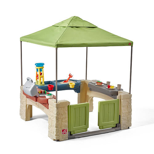 All Around Playtime Patio with Canopy - Casa Abierta con Toldo