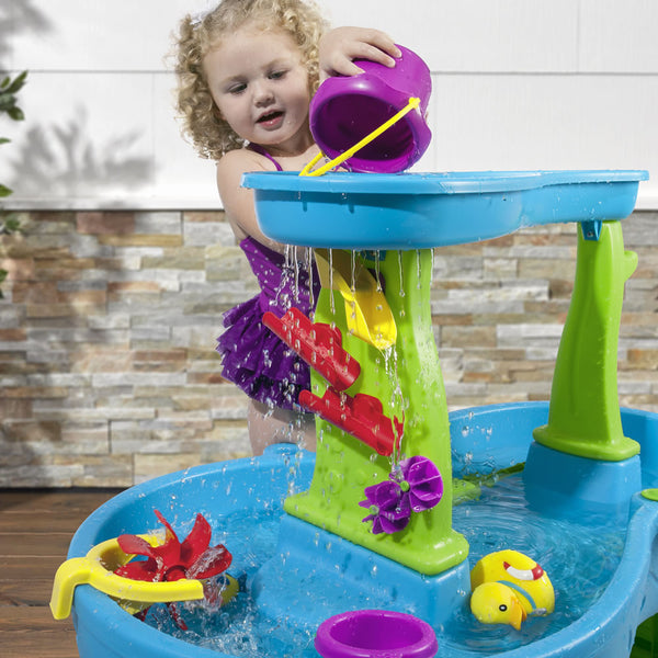 Rain Showers Splash Pond Water Table™ Mesa de Lluvia & Cascada