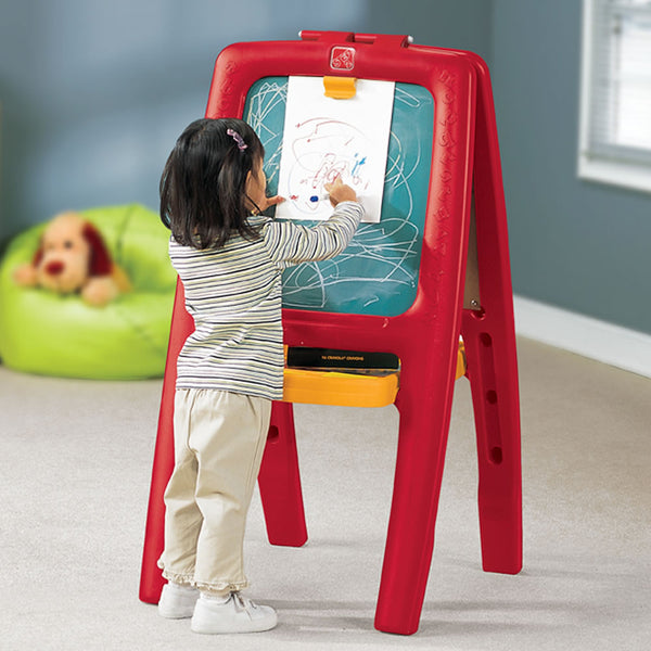 Easel For Two™ - Caballete para Dos Rojo