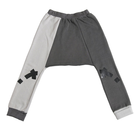lesli pant / Dk grey/grey [product type] [product vendor]- four the boys
