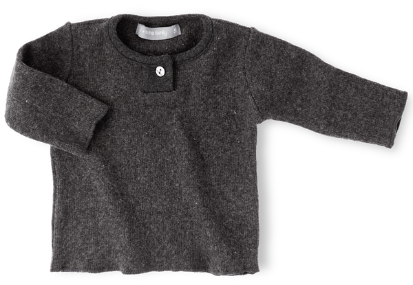 Dani long sleeve top / anthracite [product type] [product vendor]- four the boys