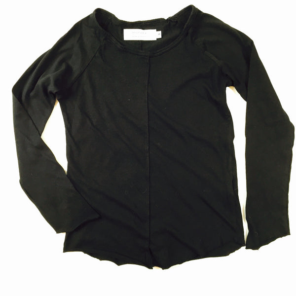 crew Long sleeve/ black [product type] [product vendor]- four the boys