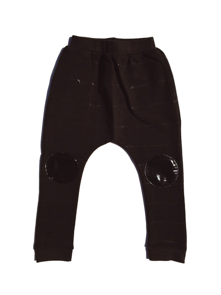 liat drop crotch pants  / black on black [product type] [product vendor]- four the boys