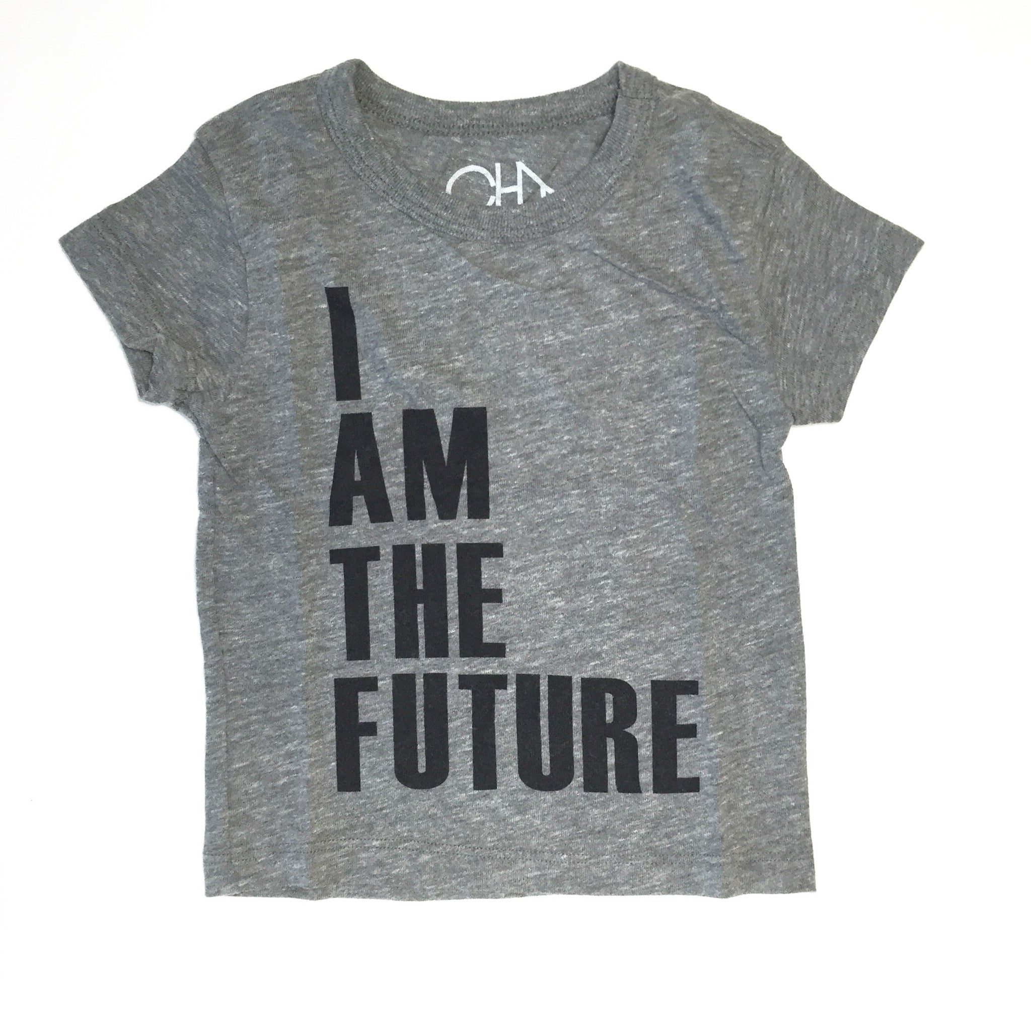 I am the Future Tee / heather grey [product type] [product vendor]- four the boys