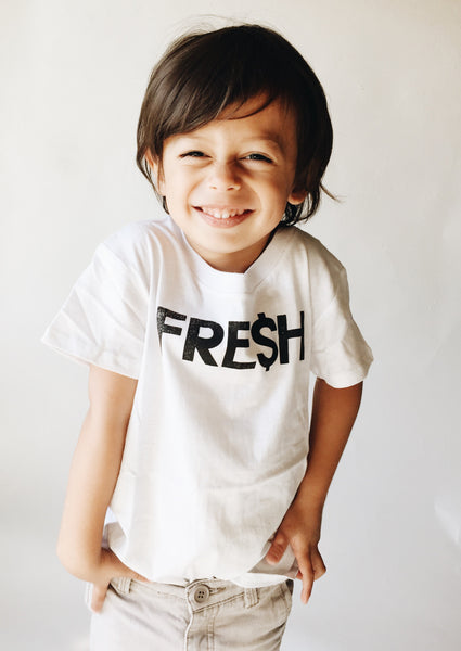 fresh tee / white [product type] [product vendor]- four the boys