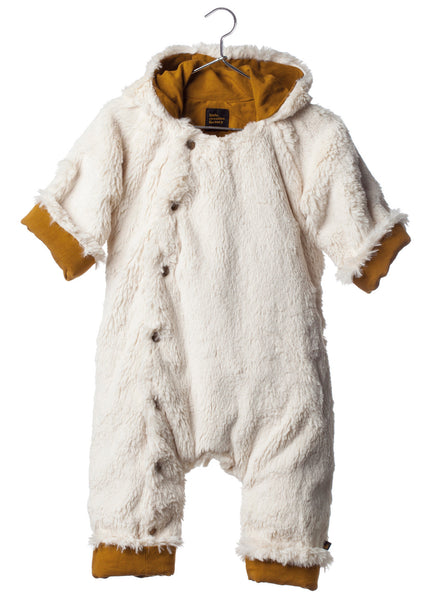 baby snow overall/ white fur [product type] [product vendor]- four the boys