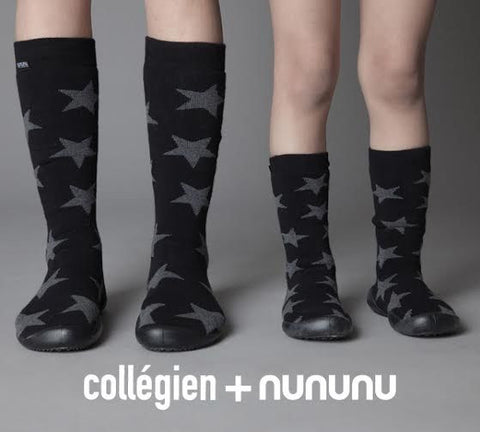 Collegien + Nununu slippers/ stars [product type] [product vendor]- four the boys