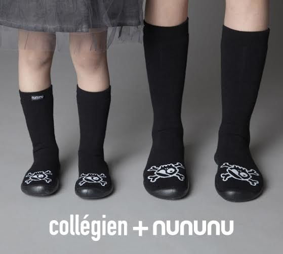 Collegien + Nununu slippers/ skulls [product type] [product vendor]- four the boys