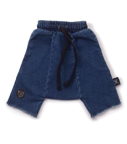 harem short / denim [product type] [product vendor]- four the boys