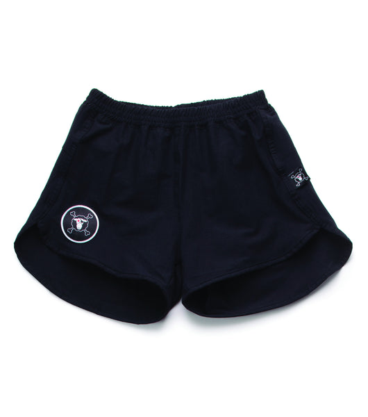 GYM SWIM SHORTS/ BLACK