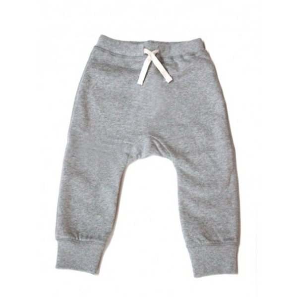 organic baggy pants / grey melange [product type] [product vendor]- four the boys