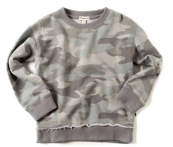 highland sweatshirt/ grey camo