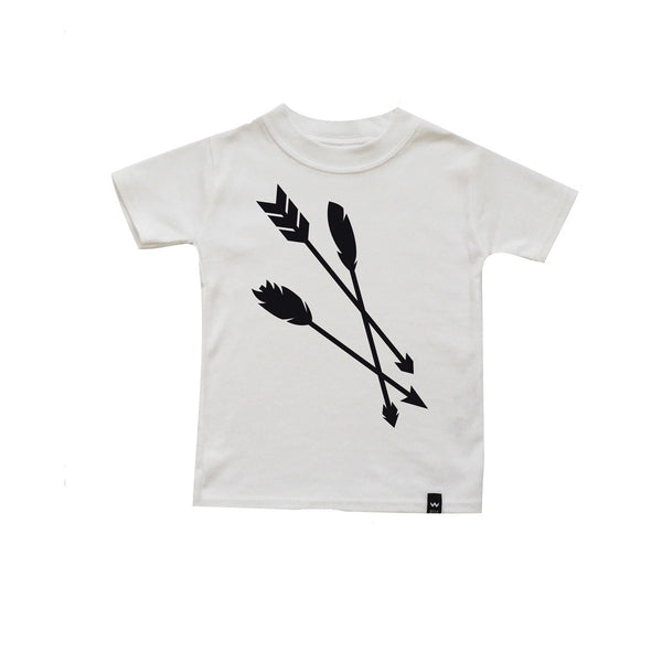 Arrows Tee / white [product type] [product vendor]- four the boys