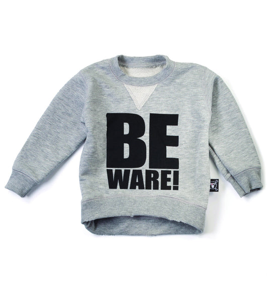 be ware pullover / heather grey [product type] [product vendor]- four the boys