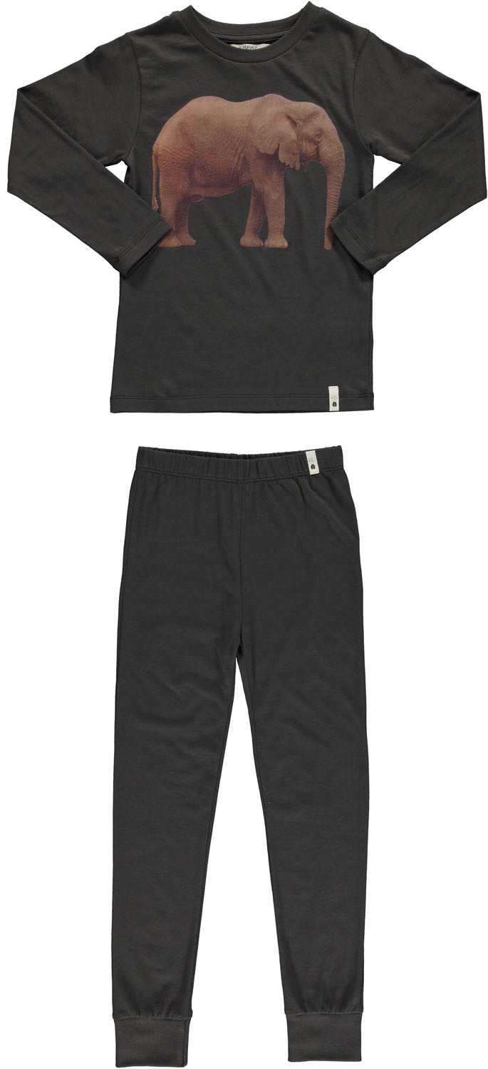 nightwear / vintage black elephant [product type] [product vendor]- four the boys