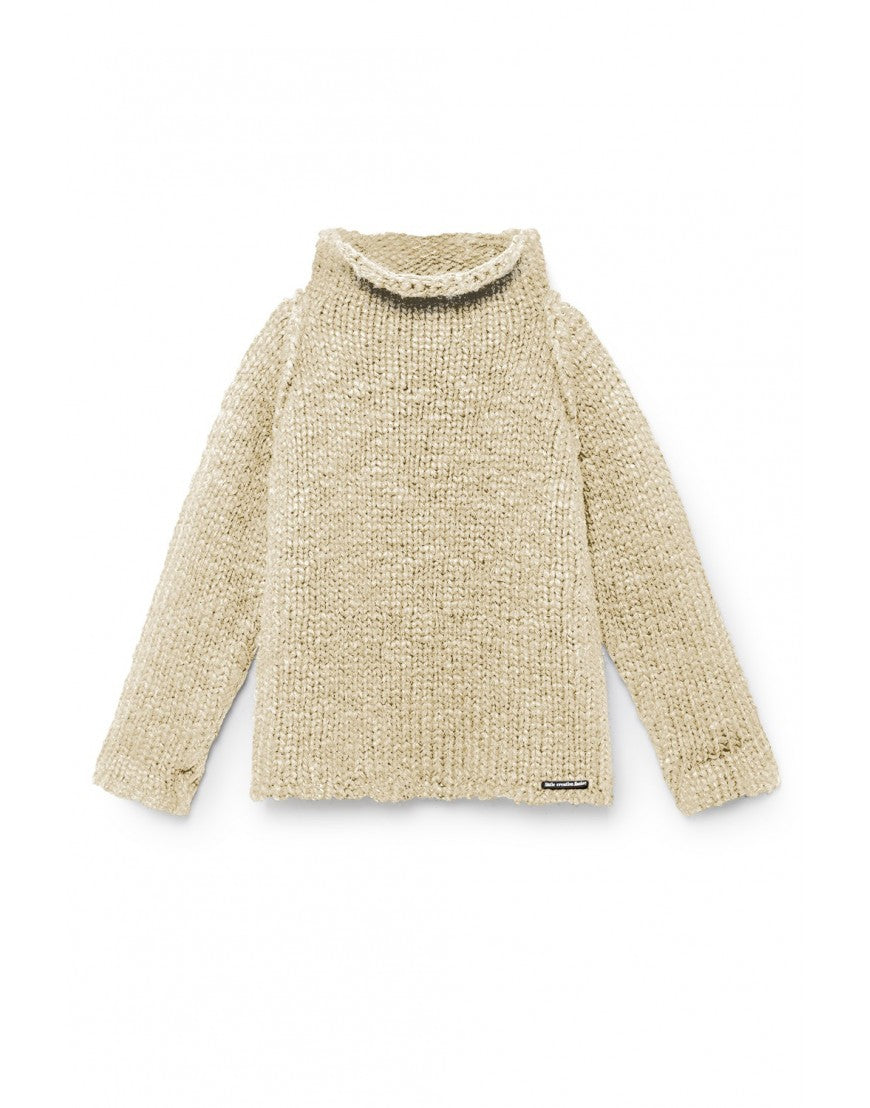 Sam's Chunky Knit Sweater/ natural
