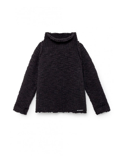 Sam's Chunky Knit Sweater/ black