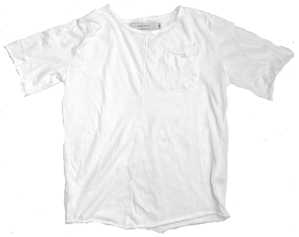 shield tee/white [product type] [product vendor]- four the boys