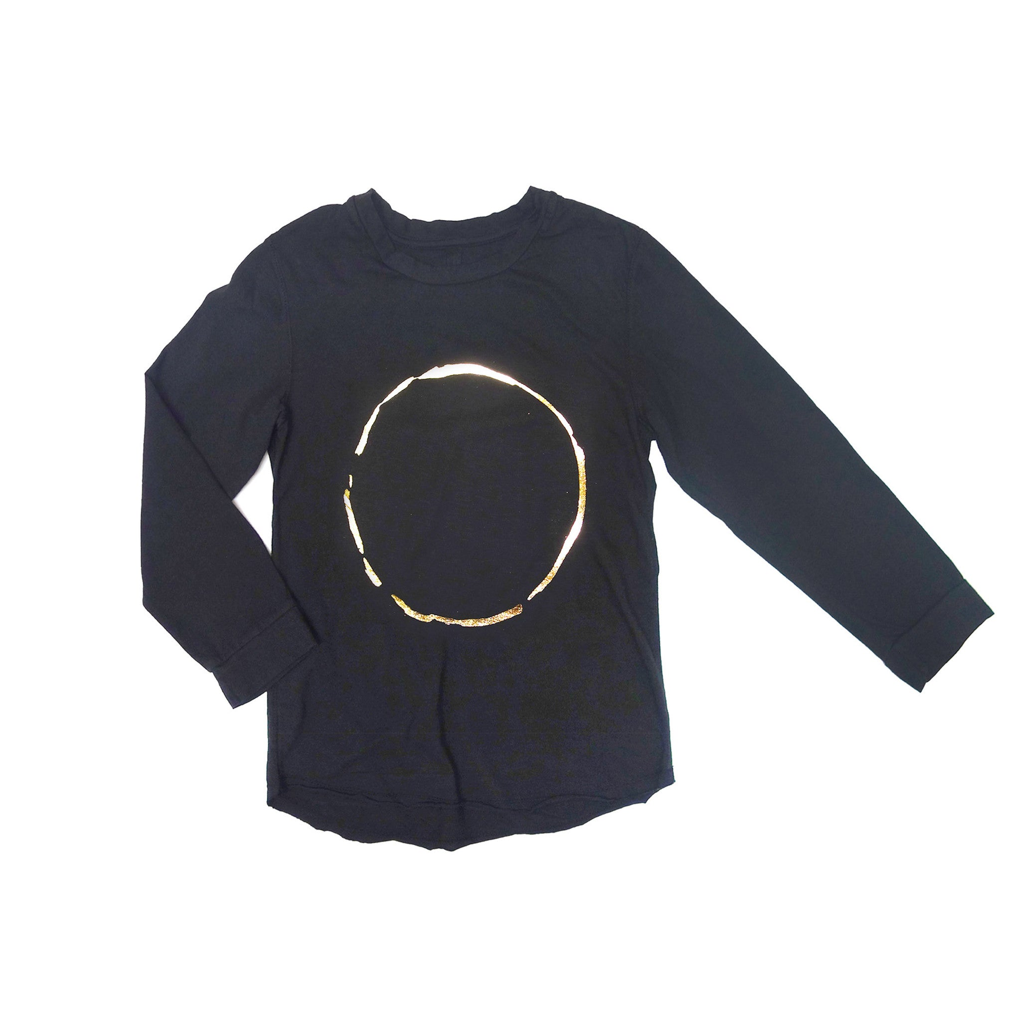 moon long sleeve raglan/ galaxy