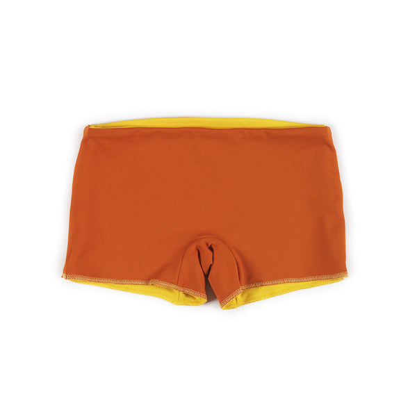 orange/yellow bathing shorts [product type] [product vendor]- four the boys