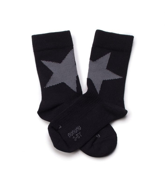 star socks/black