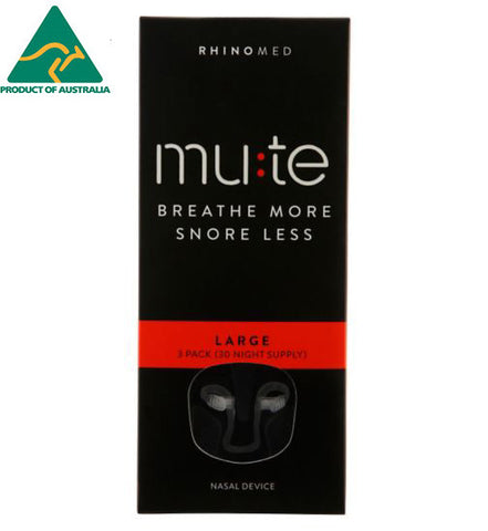 Rhinomed-MUTE Large 3pcs (in pk)