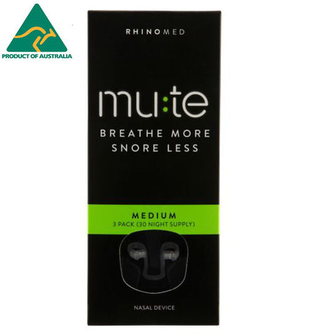 Rhinomed-MUTE MED 3pcs/pk