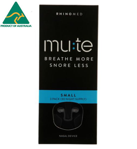 Rhinomed-MUTE Small 3pcs/pk