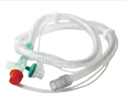 Resmed - Adult Single Patient Circuit with proximal pressure line and exhalation valve tube (22mm)