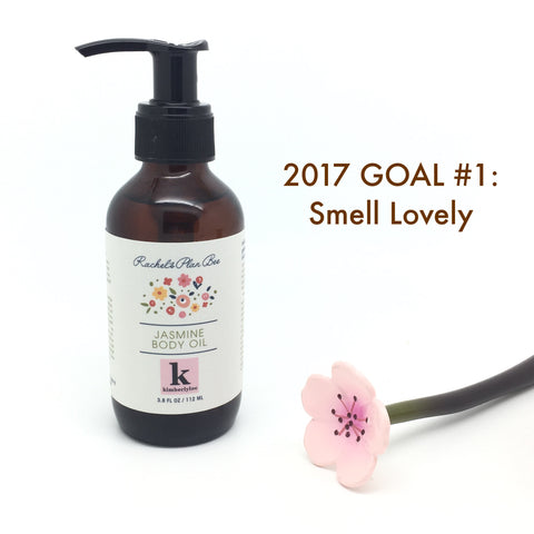 Rachel's Plan Bee 2017 Goal #1 Smell Lovely