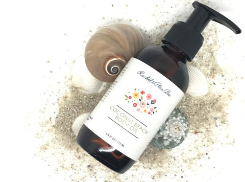 Rachel's Plan Bee Coconut Beach Body Oil