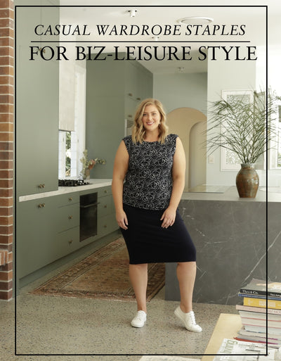 Casual Wardrobe Staples for Biz-Leisure Style