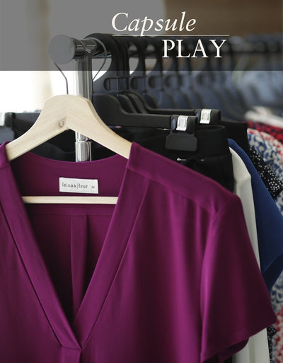 Capsule Play: How and why to build your capsule wardrobe with Leina & Fleur