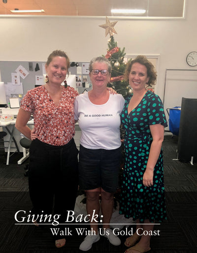 Giving Back: Walk With Us Gold Coast