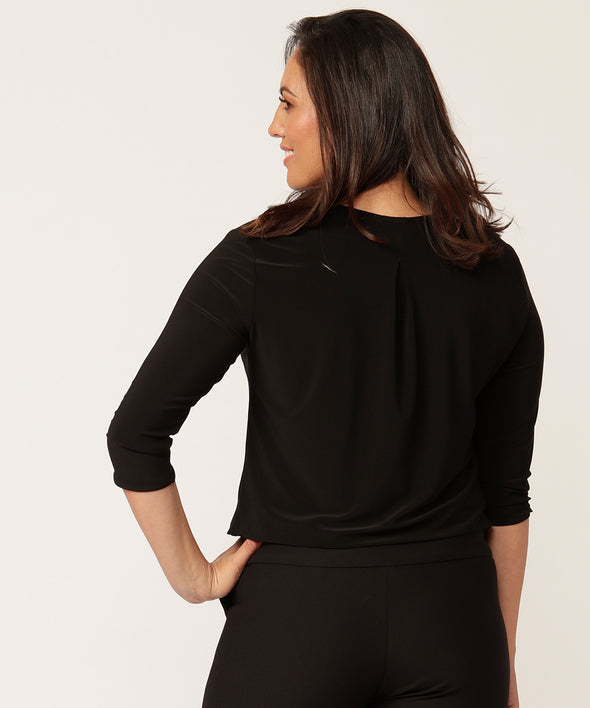 Jane top in black