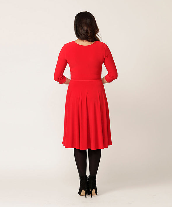 SALE Frolic dress in red